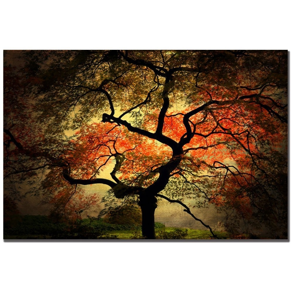 Trademark Fine Art Japanese Iphilippe Sainte Laudy Canvas Wall Pertaining To 2017 Japanese Canvas Wall Art (View 13 of 15)