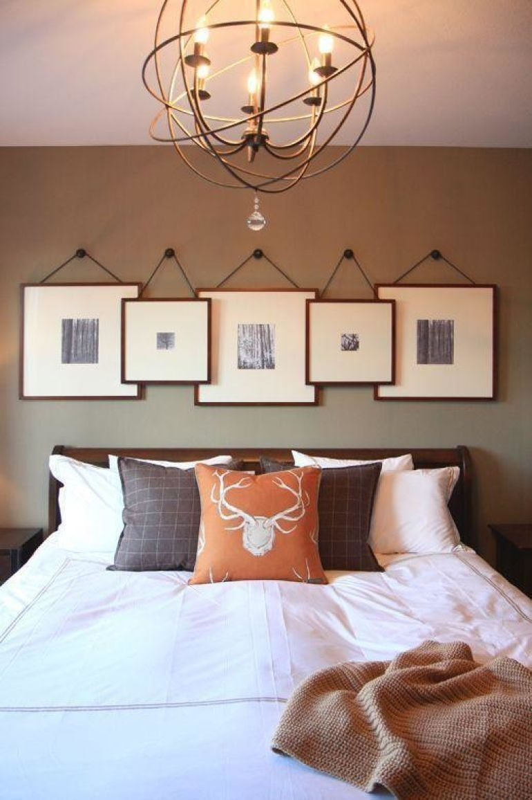 Transform Your Favorite Spot With These 20 Stunning Bedroom Wall Regarding Most Popular Wall Accents Behind Bed (View 14 of 15)