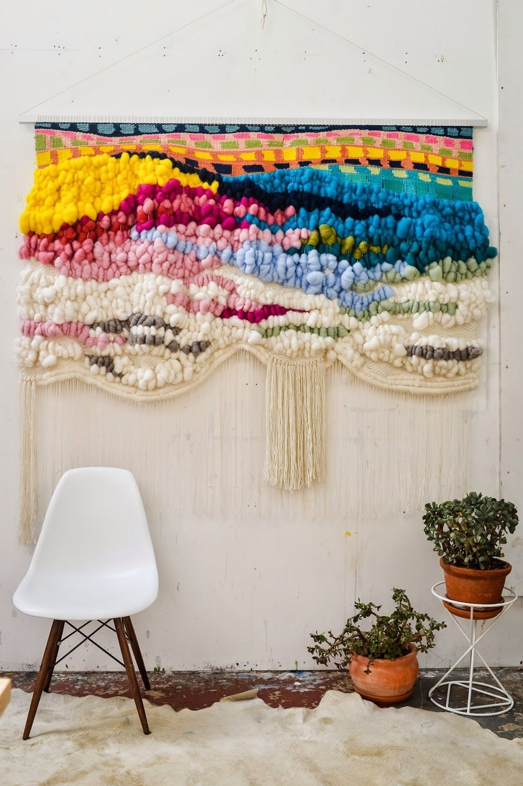 Trend Scout: The Best Of '70s Interior Design Trends For Today In Most Recent Woven Textile Wall Art (View 3 of 15)