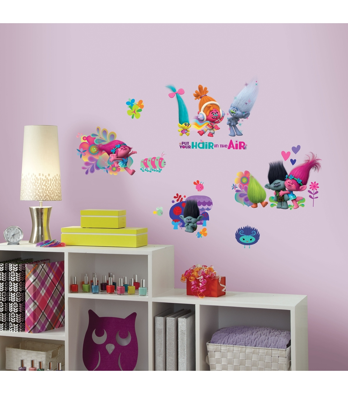 Trolls Movie Peel & Stick Wall Decals | Joann Pertaining To Current Joann Fabric Wall Art (View 13 of 15)