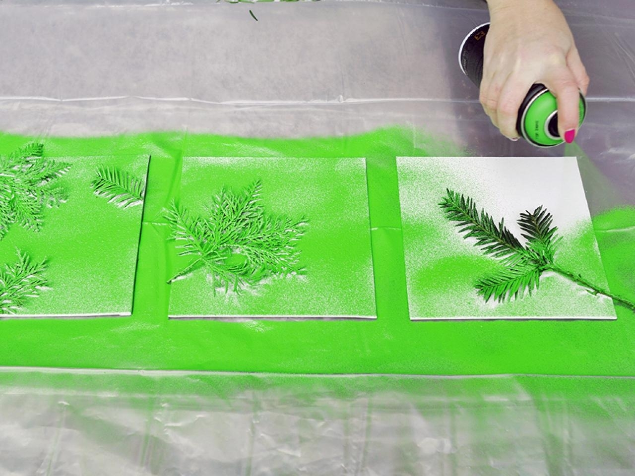 Turn Leaves And Foliage Into Diy Canvas Wall Art | Hgtv Inside Most Current Leaves Canvas Wall Art (View 5 of 15)
