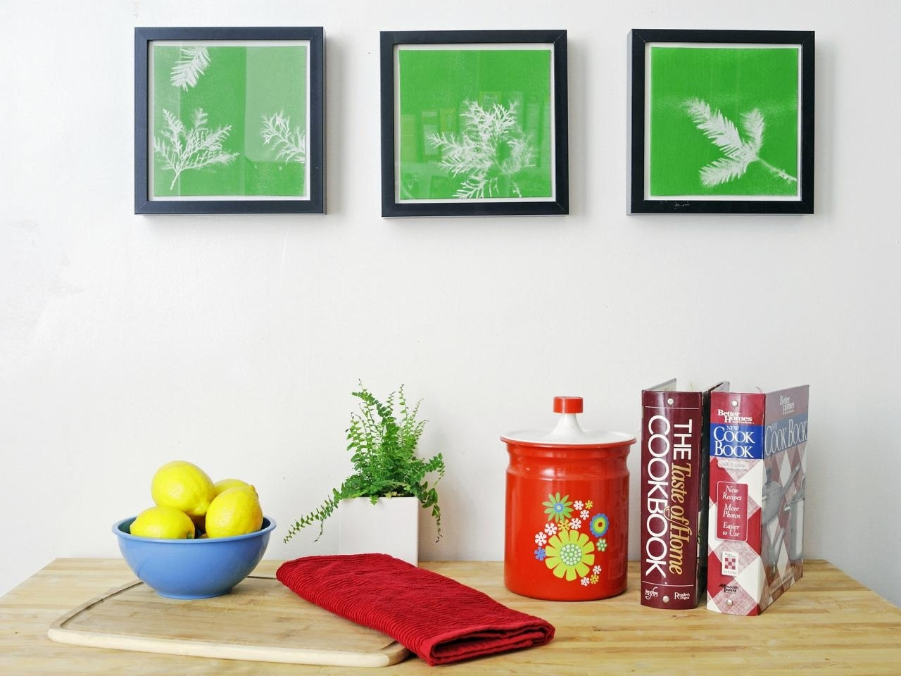 Turn Leaves And Foliage Into Diy Canvas Wall Art | Hgtv Regarding Current Diy Canvas Wall Art (View 15 of 15)