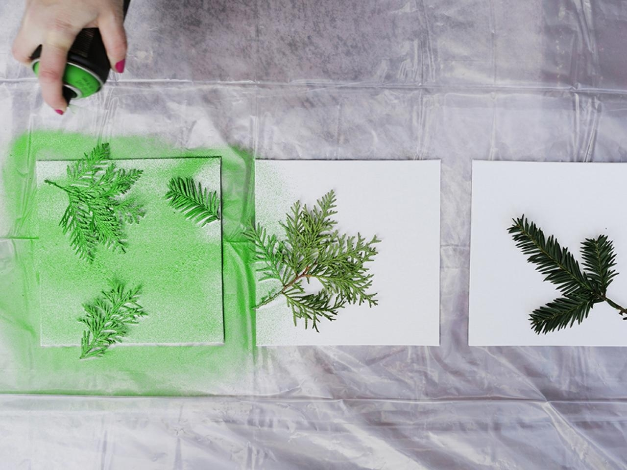 Turn Leaves And Foliage Into Diy Canvas Wall Art | Hgtv Throughout 2017 Leaves Canvas Wall Art (View 2 of 15)