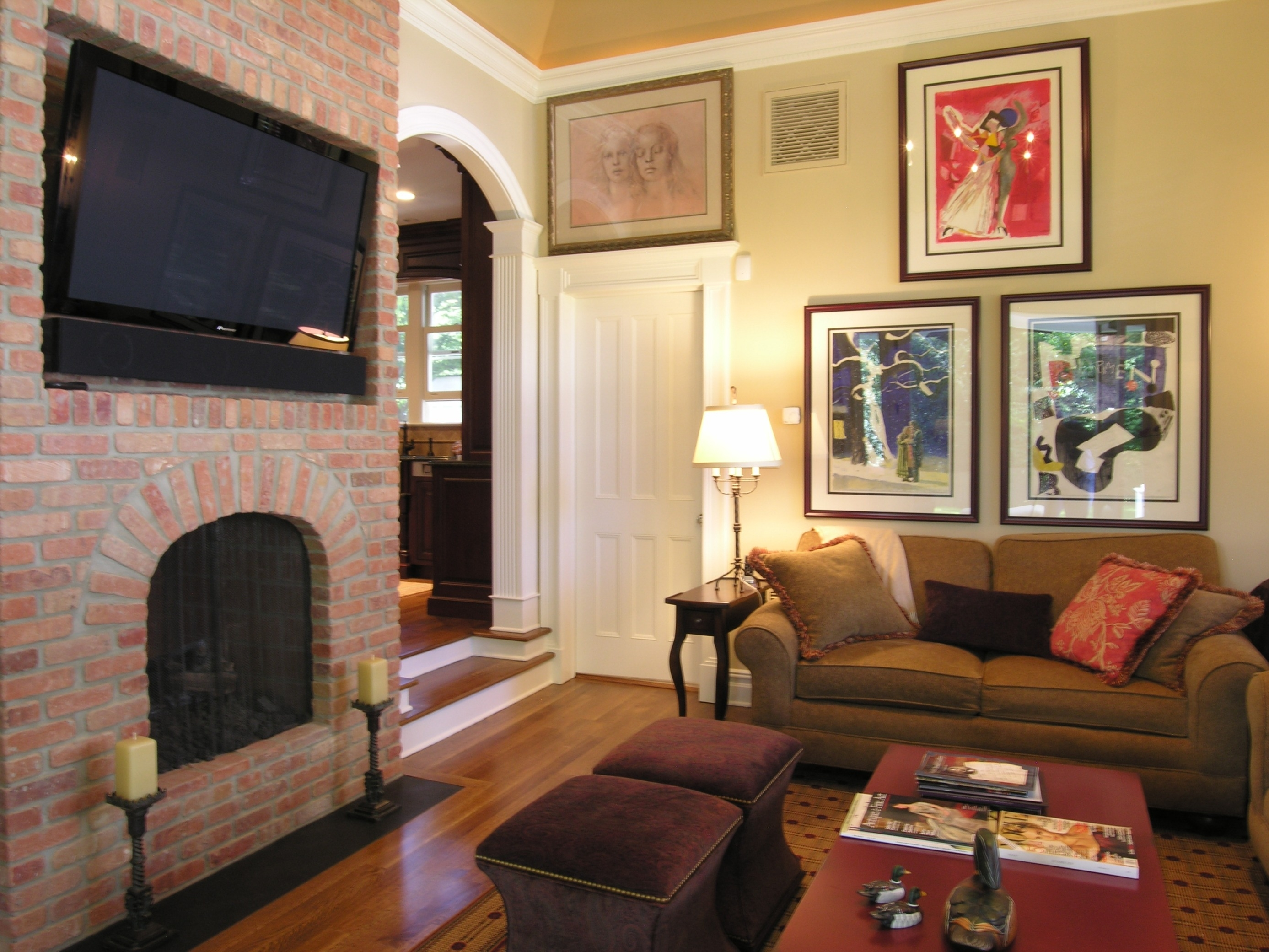 Tv Room Decorating Ideas Magnificent Design For Living Walls Paint In Newest Wall Accents Behind Tv Or Couch (View 9 of 15)