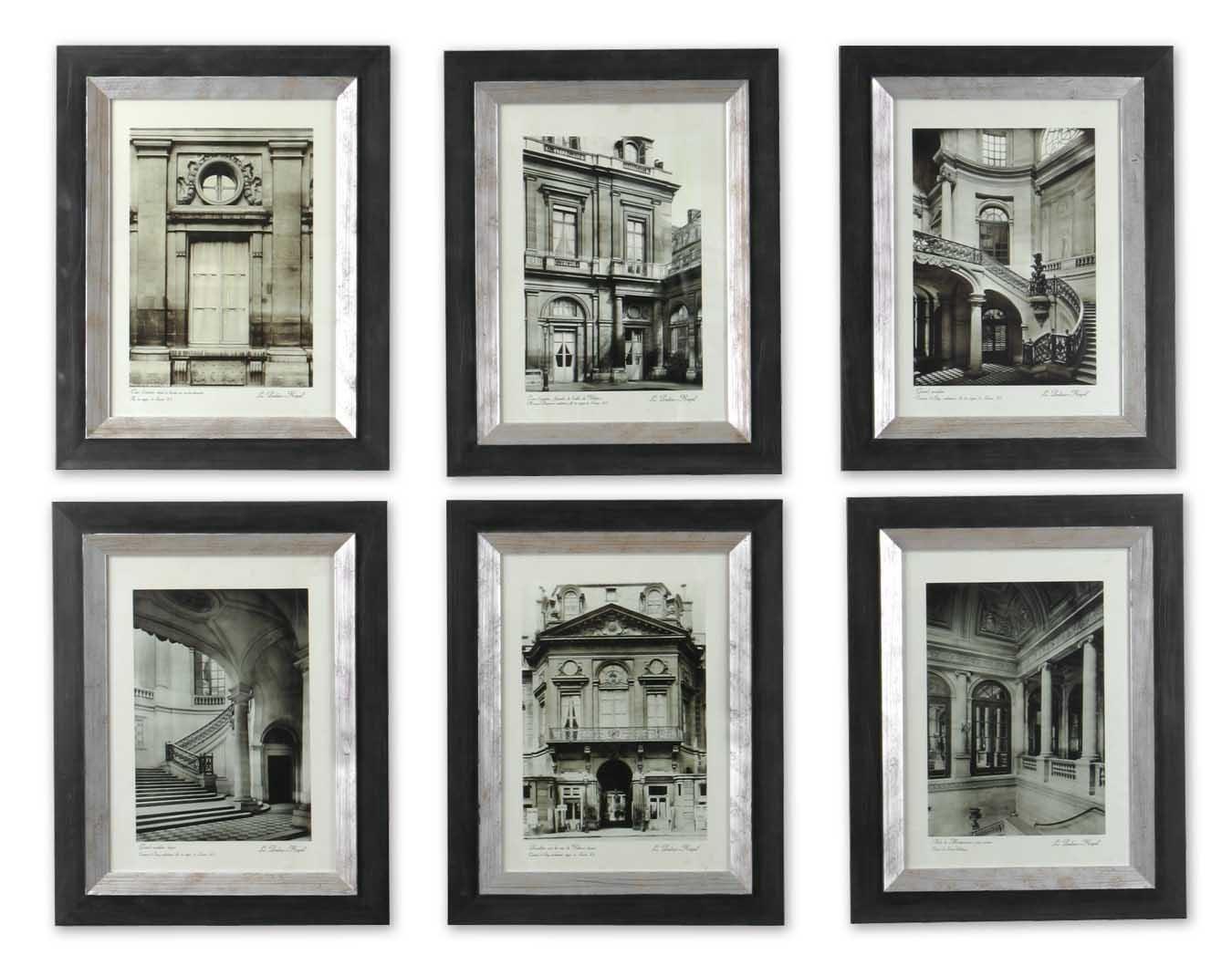 Uttermost Paris Scene Framed Art Set/6 33430 With Newest Framed Art Prints Sets (View 9 of 15)