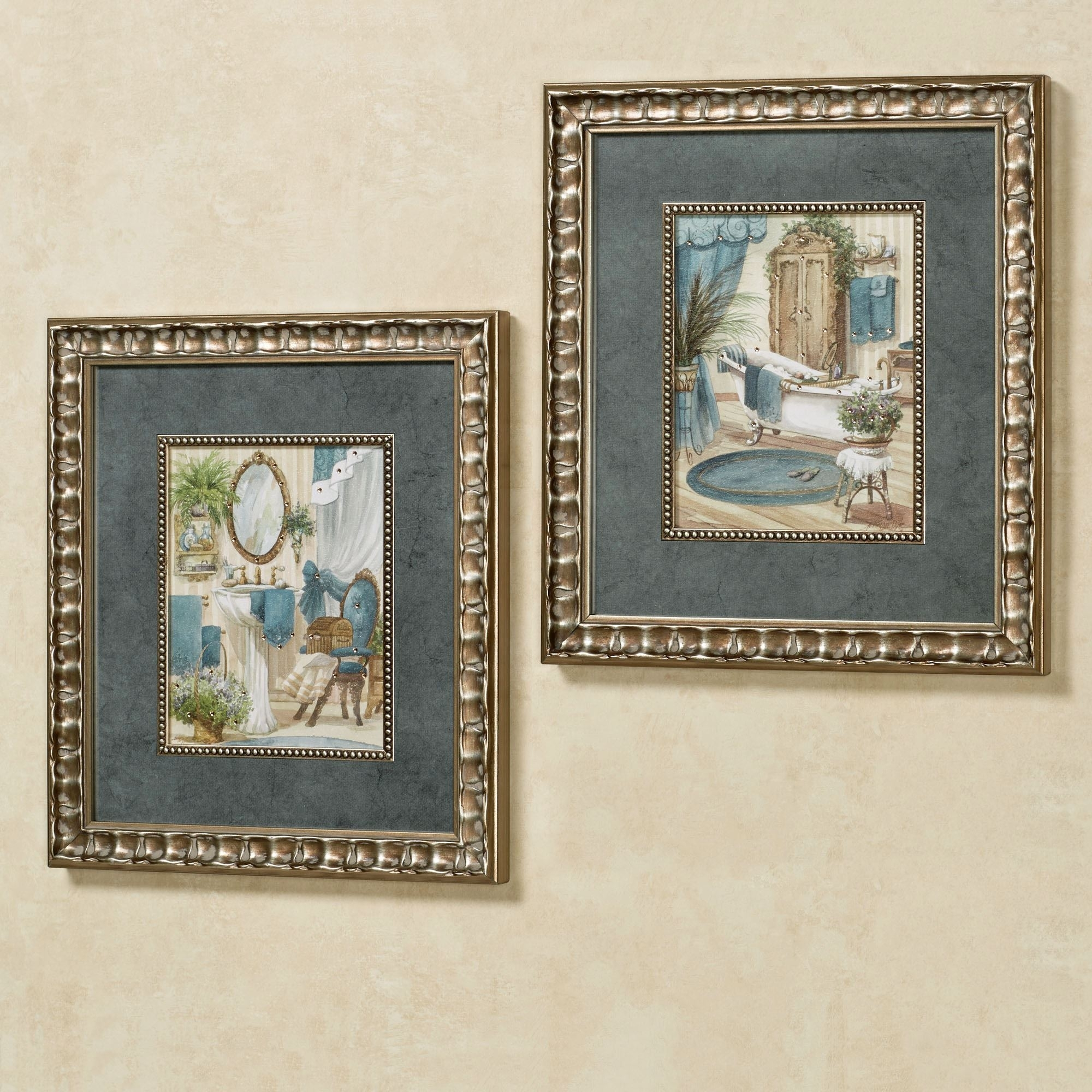 Victorian Bath Framed Wall Art Throughout 2017 Framed Art Prints Sets (View 10 of 15)