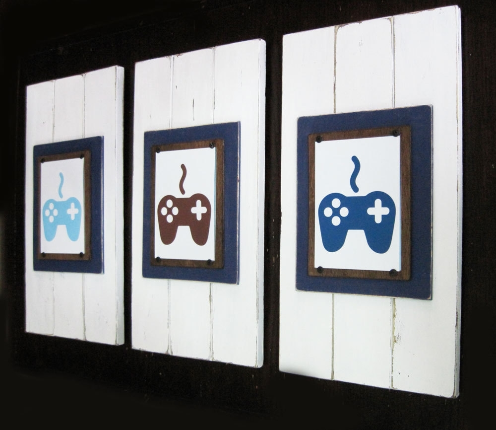 Video Game Art Print Pertaining To Current Framed Art Prints (View 11 of 15)