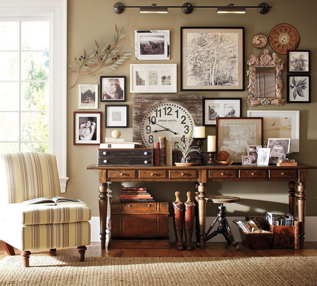 Vintage Home Decor Popular With Picture Of Vintage Home Interior in Newest Vintage Wall Accents