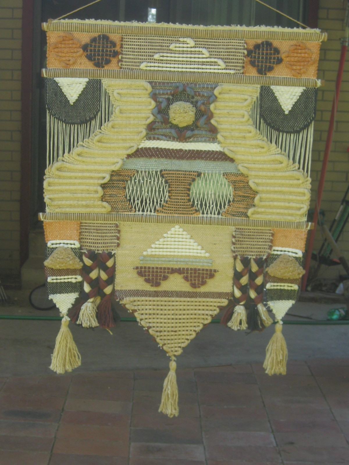Vintage Macrame Woven Textile Wall Art Objects Pinterest - Super Tech for Most Up-to-Date Vintage Textile Wall Art