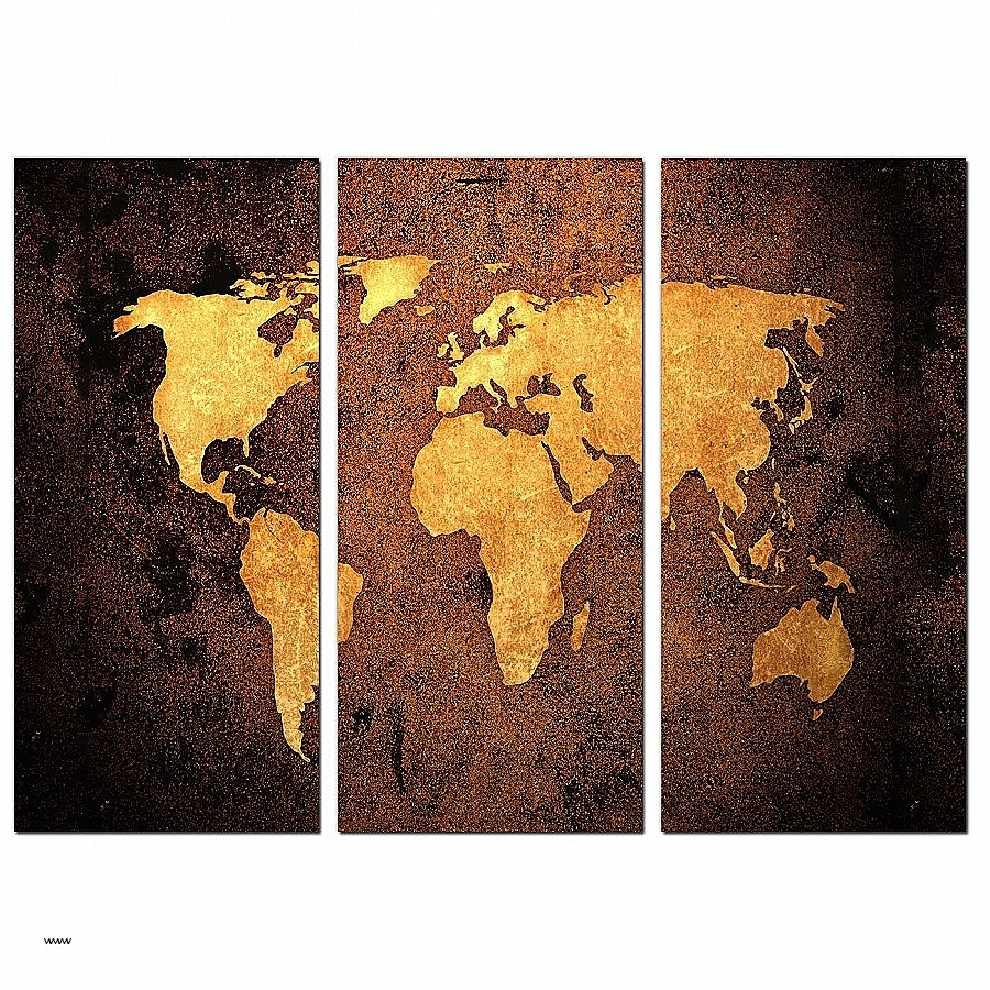 Vintage Wall Art Canvases Fresh Vintage World Map Canvas Wall Art Regarding Most Recent Maps Canvas Wall Art (View 11 of 15)