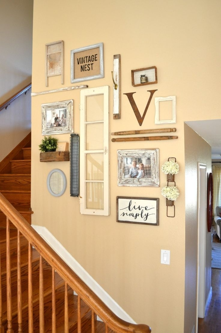 Vintage Wall Decor Ideas 1000+ Ideas About Vintage Wall Pertaining To Most Recent Antique Wall Accents (Gallery 15 of 15)