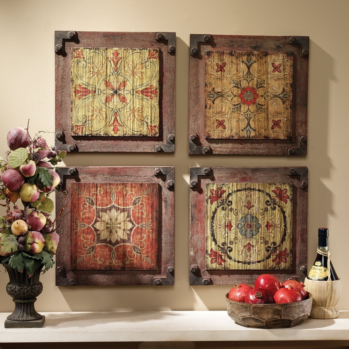 Vintage Wall Decorations New Vintage Wall Decoration – Wall Art Throughout Recent Vintage Wall Accents (View 12 of 15)