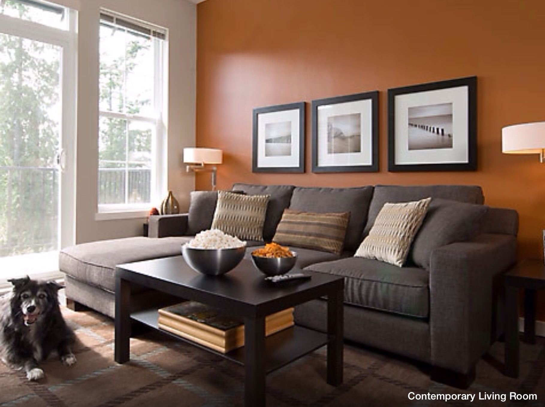 Wall Accent Color | Wall Colors That Work | Pinterest | Wall With Most Popular Brown Couch Wall Accents (View 8 of 15)