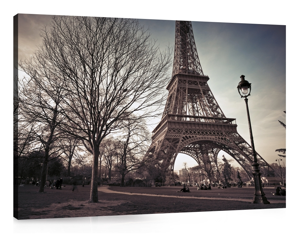 Wall Art. Amusing Paris Canvas Wall Art: Captivating-Paris-Canvas inside Most Up-to-Date Eiffel Tower Canvas Wall Art