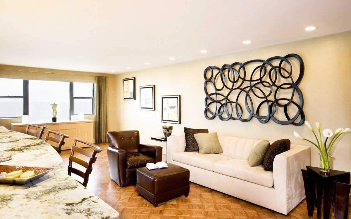 Wall Art And Wall Decoration Ideas For Living Room Beauty Home Pertaining To Most Popular Wall Accents For Living Room (View 12 of 15)