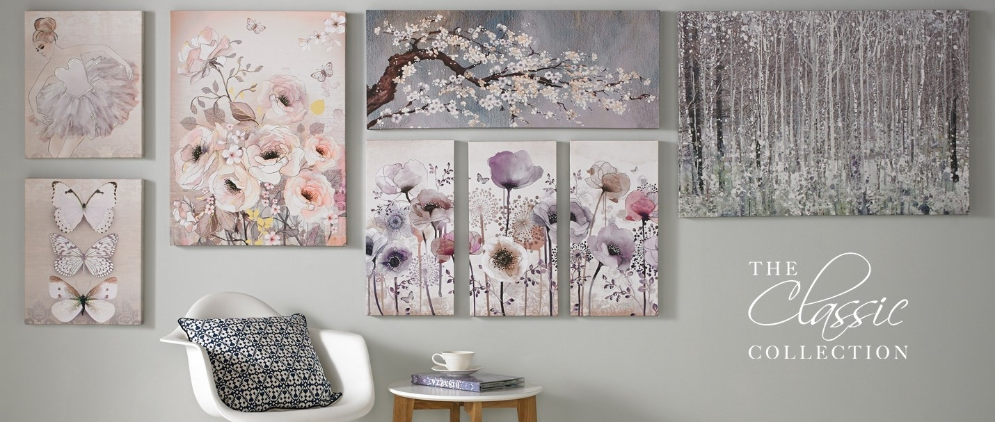 Wall Art: Best Sample Collection Sparkle Wall Art Glitter Wall In Best And Newest Canvas Wall Art At Wayfair (View 15 of 15)