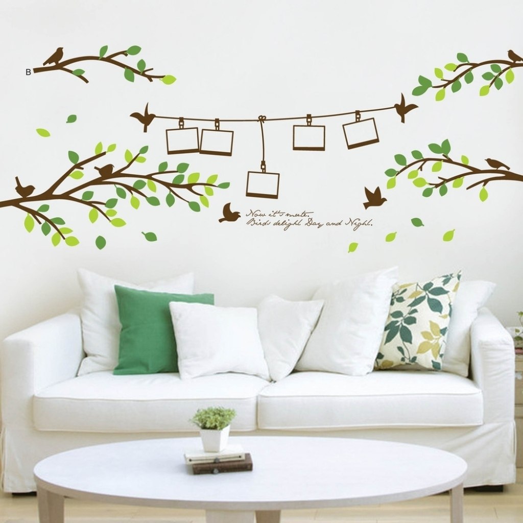 Wall Art Decor Unique Hardscape Design Creative Ideas For 3d Intended For Most Recently Released Wall Accents Stickers (View 7 of 15)