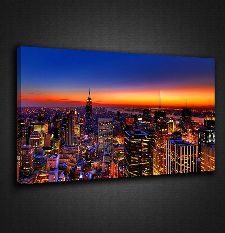 Wall Art Design: Adorable Idea Of Wall Art Nyc, New York Wall With Regard To Most Up To Date Los Angeles Canvas Wall Art (View 14 of 15)