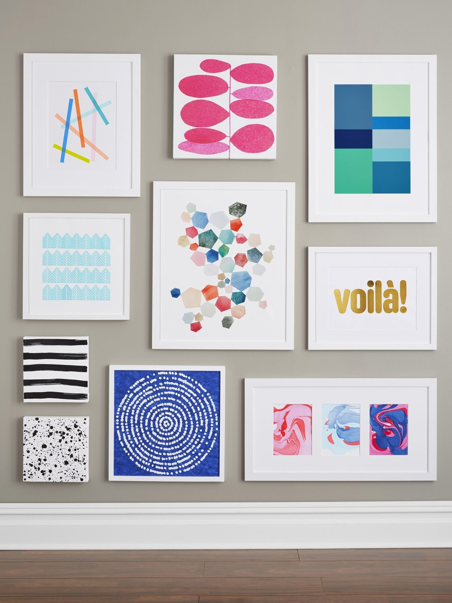 Wall Art Design: Homemade Wall Art Do It Yourself Creative Modern In Most Recently Released Homemade Canvas Wall Art (View 15 of 15)