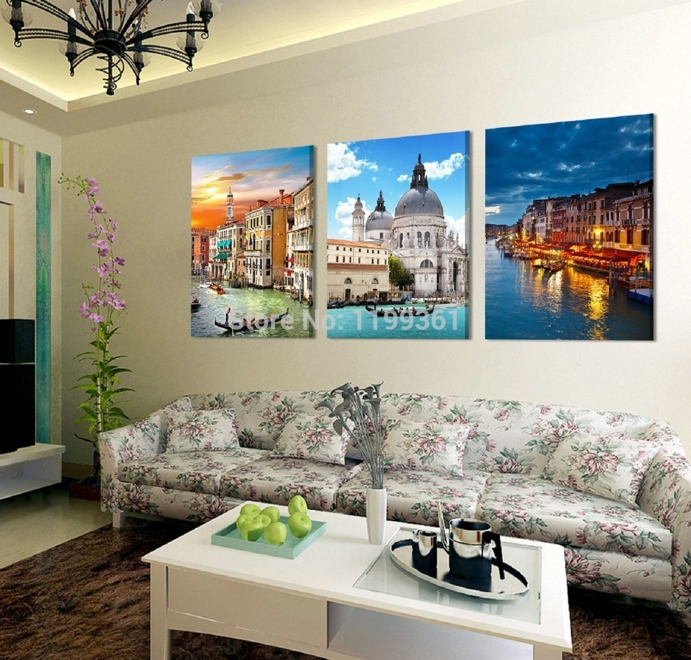 Wall Art Design Ideas: Venice Sample Wall Art Italy Great Nice Inside Most Current Canvas Wall Art Of Italy (View 14 of 15)