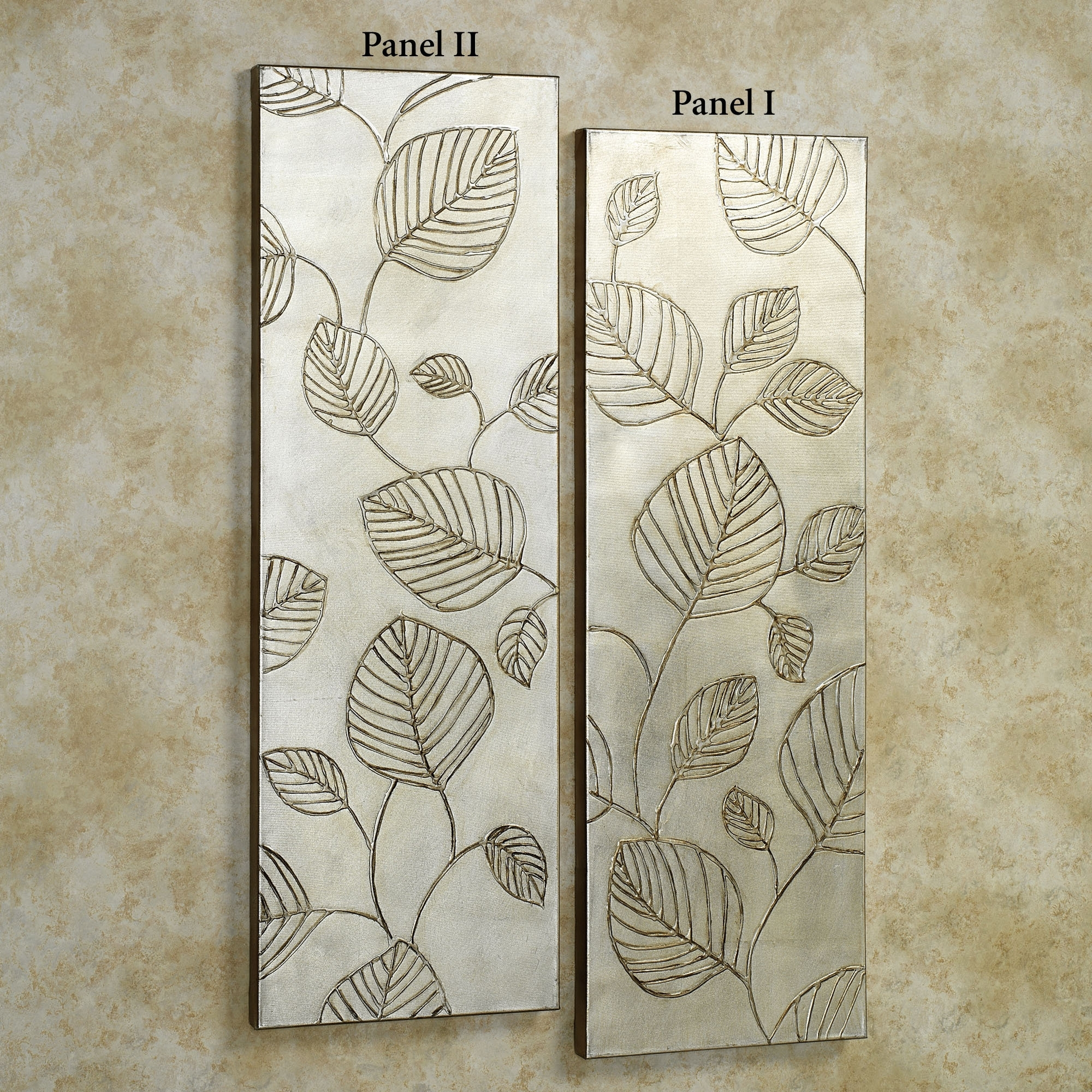 Wall Art Design: Wall Panel Art Awesome Design Collection Art For Inside Most Up To Date Leaves Canvas Wall Art (View 13 of 15)
