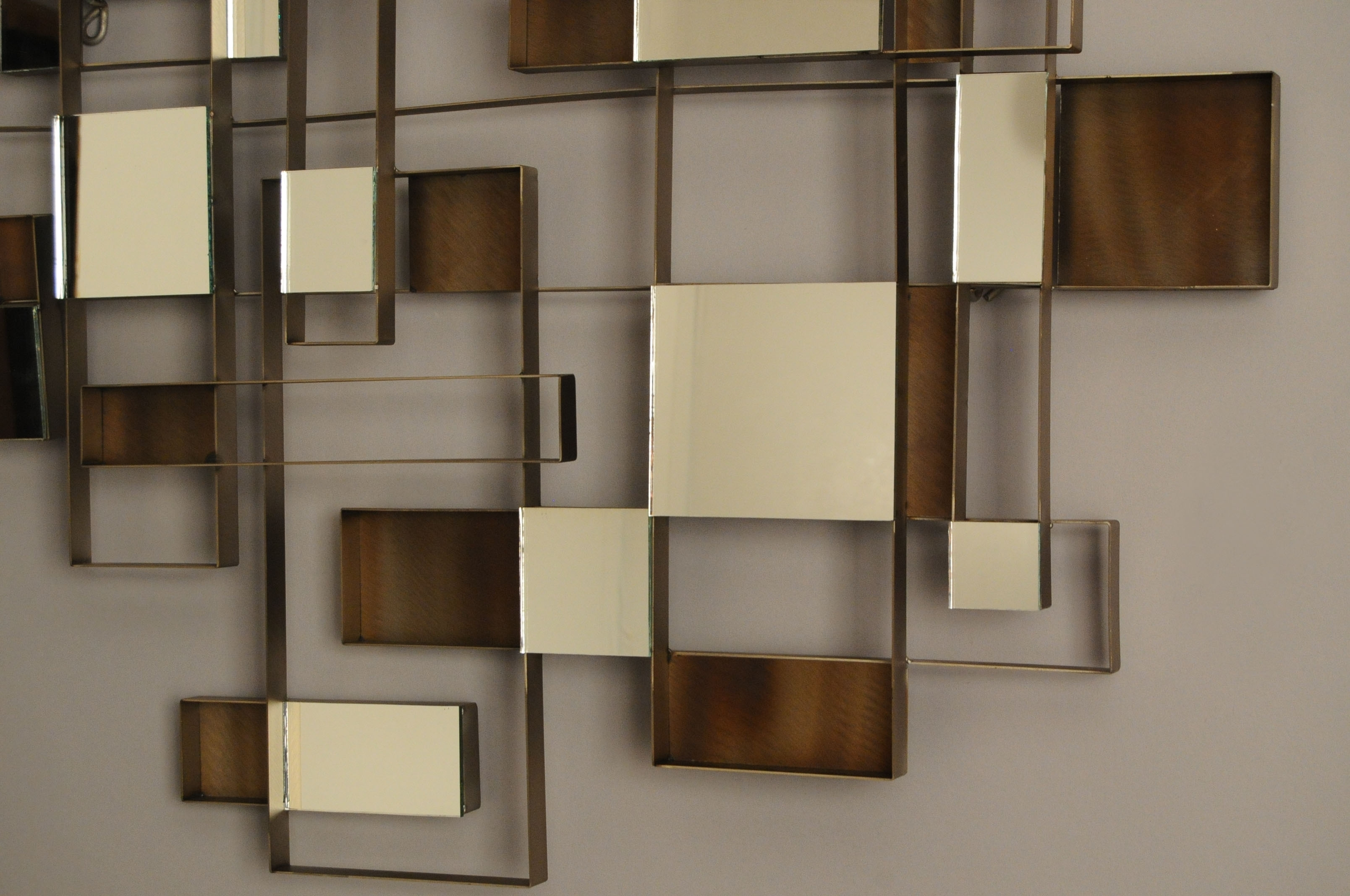 Wall Art Designs: Awesome Wall Art Mirror With Abstract Pattern For Most Recent Rectangular Wall Accents (View 14 of 15)