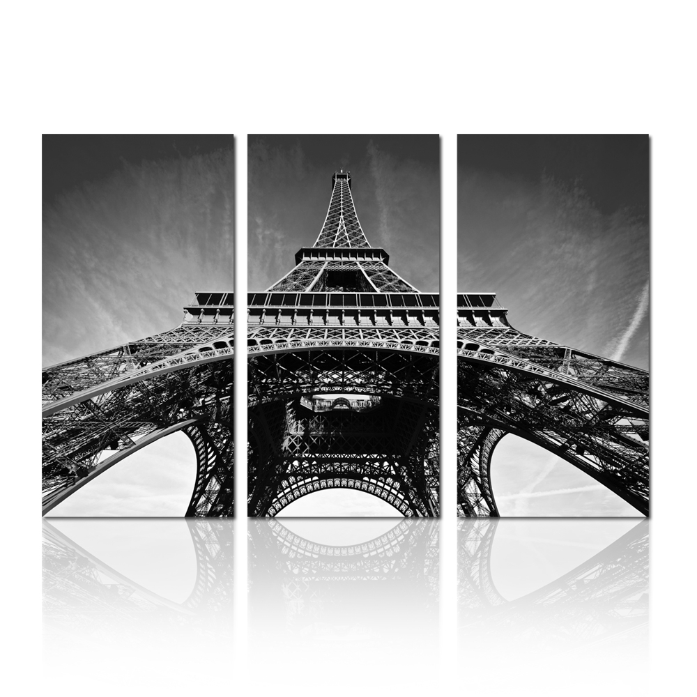 Wall Art Designs: Black And White Canvas Wall Art Wall Art Canvas Throughout Current Eiffel Tower Canvas Wall Art (View 13 of 15)