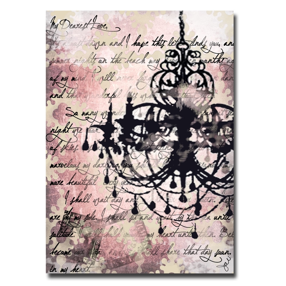 Wall Art Designs: Chandelier Wall Art Chandelier Canvas Art Regarding Most  Recently Released Chandelier Canvas
