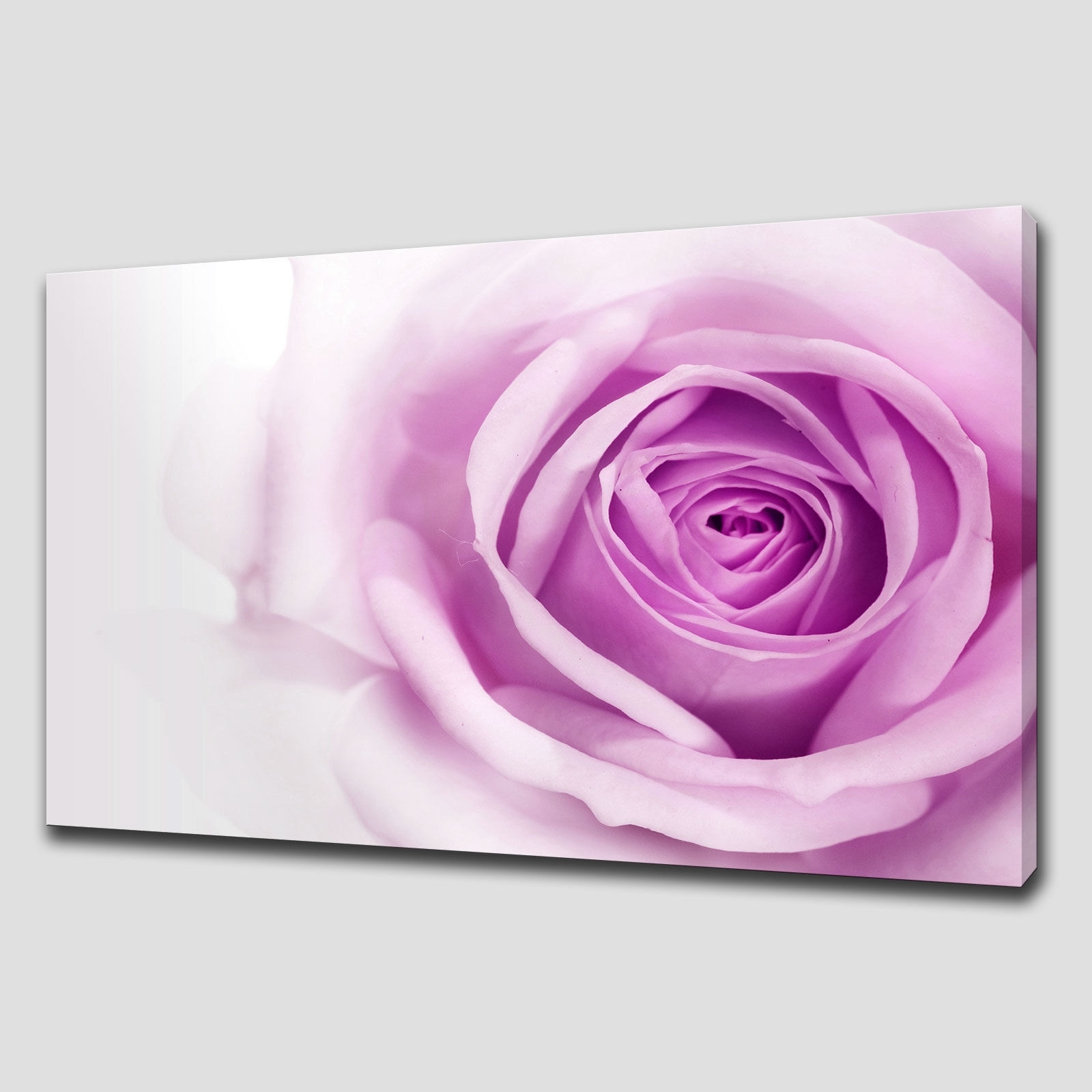 Wall Art Designs: Decor Red Rose Canvas Wall Art Large Oil Inside Most Recently Released Roses Canvas Wall Art (View 3 of 15)