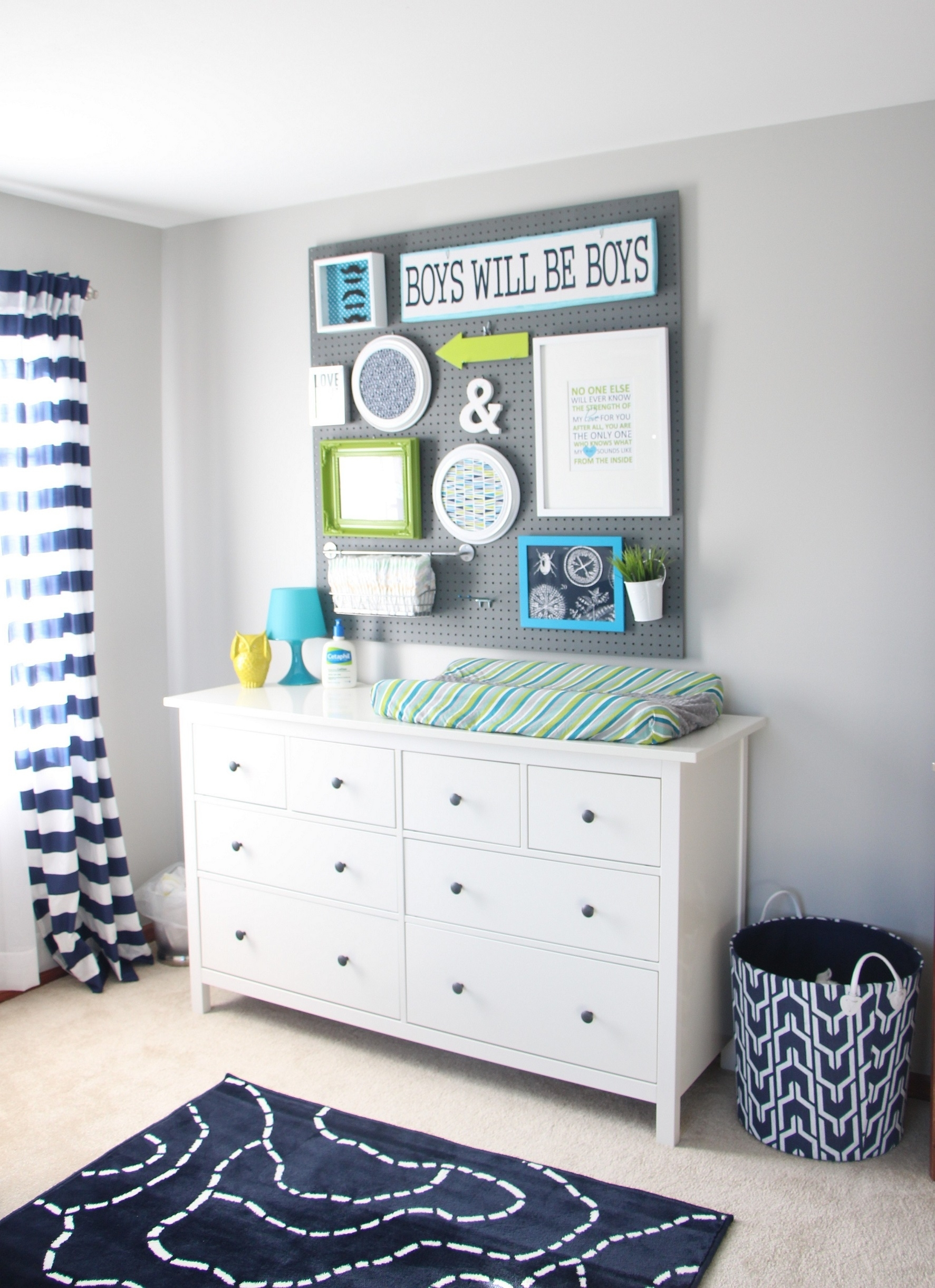 Wall Art Designs: Fabric Wall Art Baby Nursery Navy Nursery Regarding Most Popular Baby Fabric Wall Art (View 6 of 15)