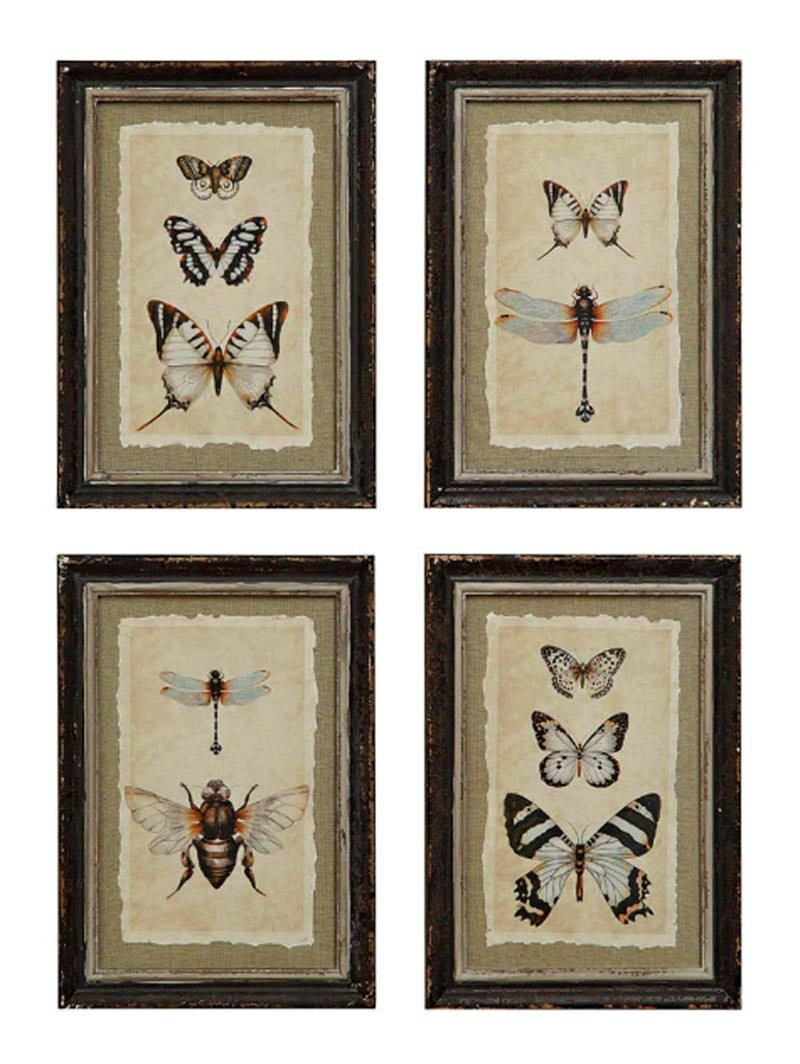 Wall Art Designs: Framed Wall Art Sets Gold Coral Print Set Of Six Within Most Popular Framed Coral Art Prints (View 7 of 15)