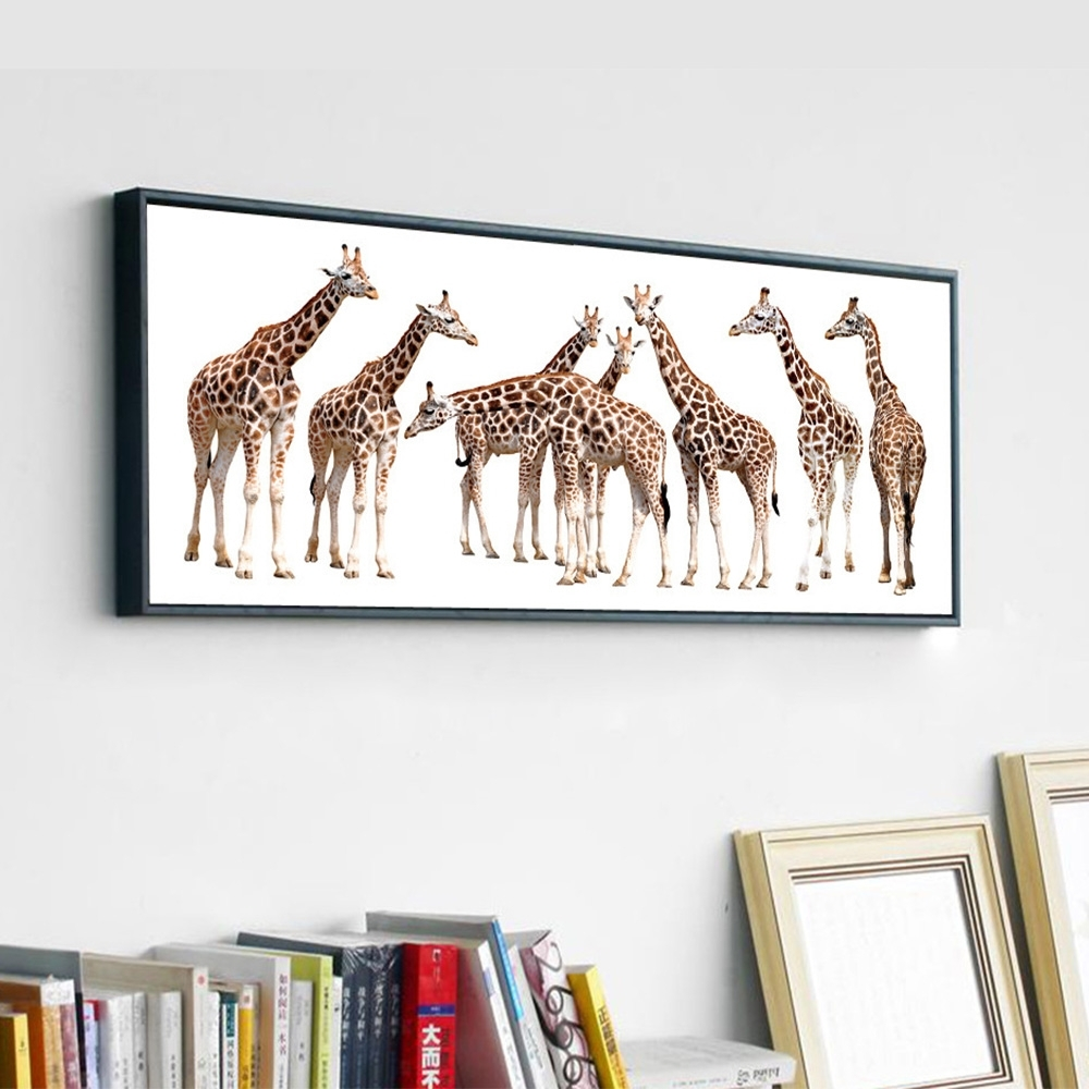 Wall Art Designs: Giraffe Wall Art Popular Giraffe Wall Art Large With Latest Giraffe Canvas Wall Art (View 15 of 15)