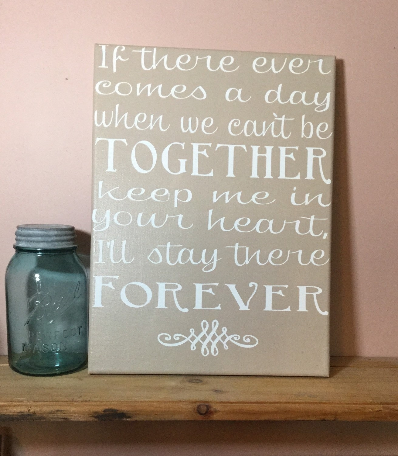 Featured Photo of Custom Quote Canvas Wall Art