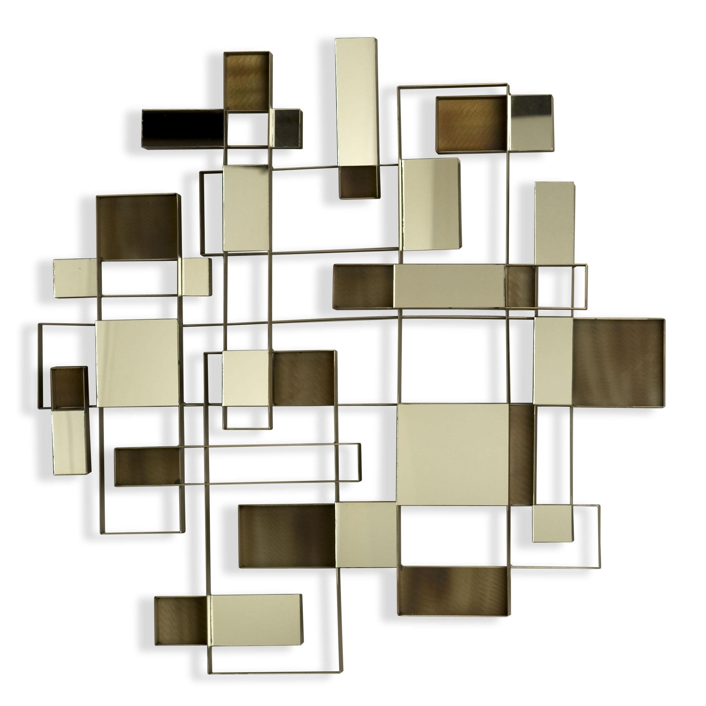 Wall Art Designs: Mirror Wall Art Nova Angles Wall Art Mirror Intended For 2018 Rectangular Canvas Wall Art (View 11 of 15)