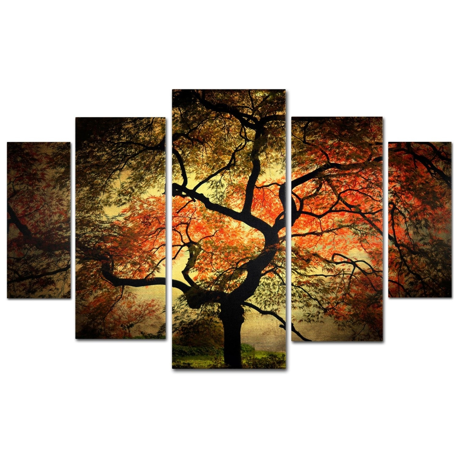 Wall Art Designs: Multi Panel Wall Art Pair Large Multi Panel Within Best And Newest Rustic Canvas Wall Art (View 6 of 15)