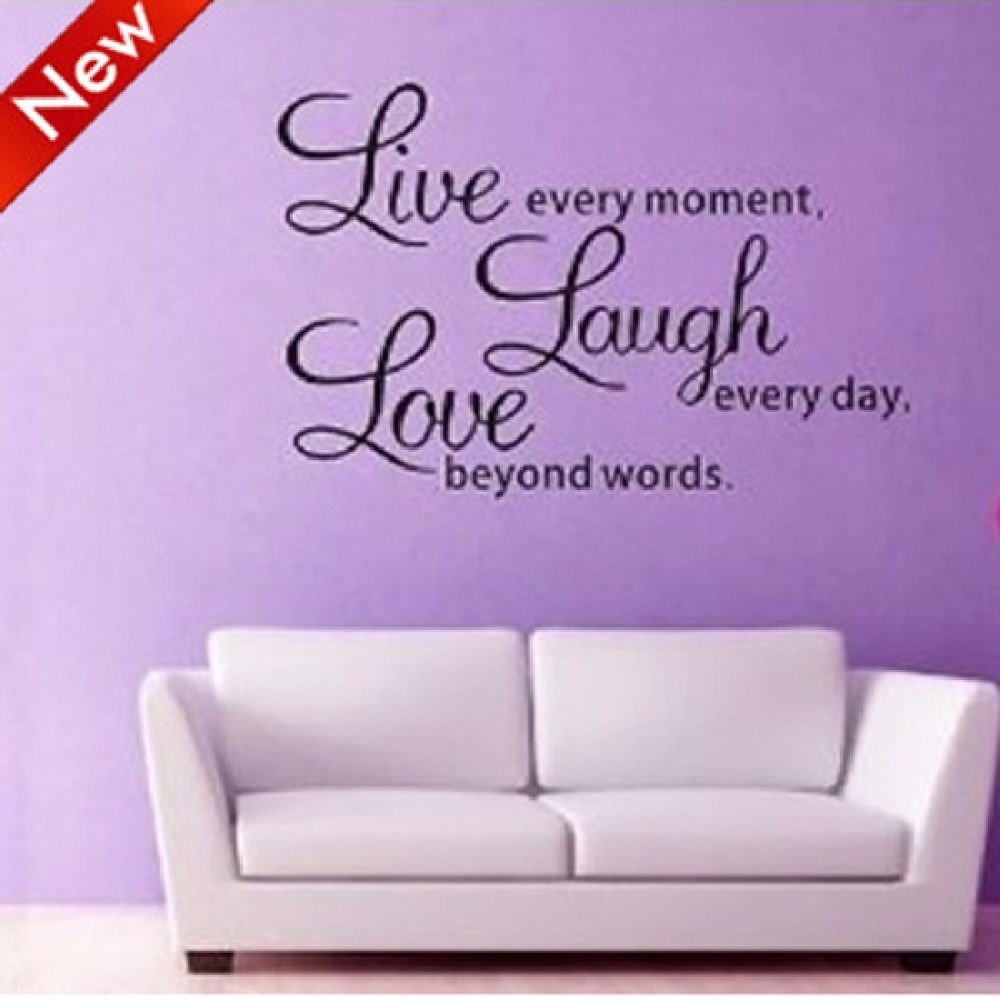 Wall Art Designs: Wall Art Sayings Hot Selling Live Laugh Love With Best And Newest Live Laugh Love Canvas Wall Art (View 15 of 15)