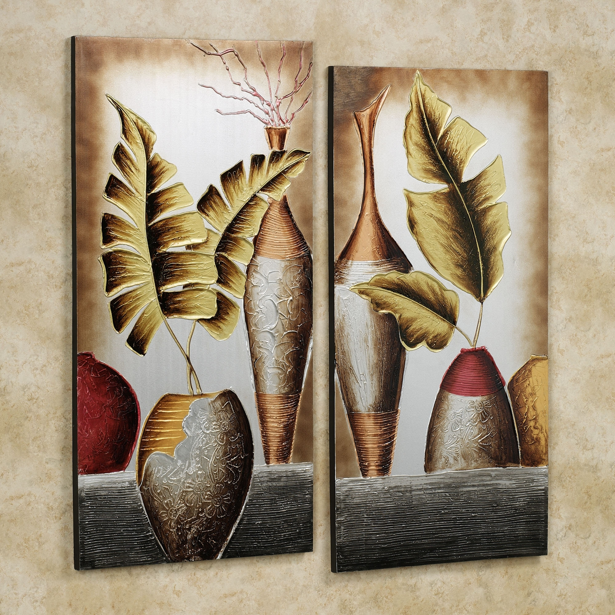Wall Art Designs: Wall Art Set Canvas Wall Art Set Unique Modern Within Best And Newest Leaves Canvas Wall Art (View 7 of 15)