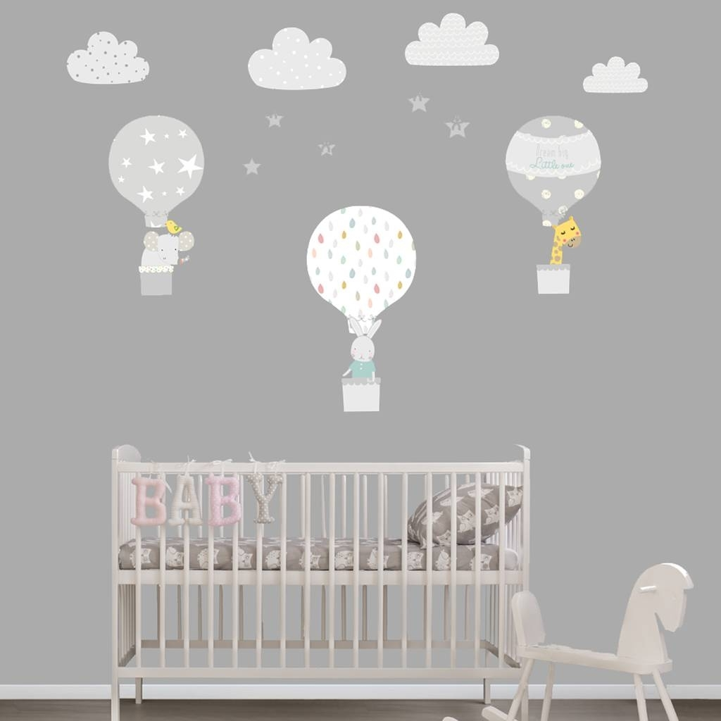 Wall Art Stickers And Decals | Notonthehighstreet Throughout Recent Fabric Animal Silhouette Wall Art (View 14 of 15)