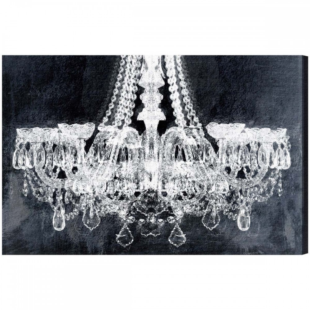 Wall Art: Stunning Chandelier Canvas Art Chandelier On Canvas In Latest Chandelier Canvas Wall Art (Gallery 11 of 15)