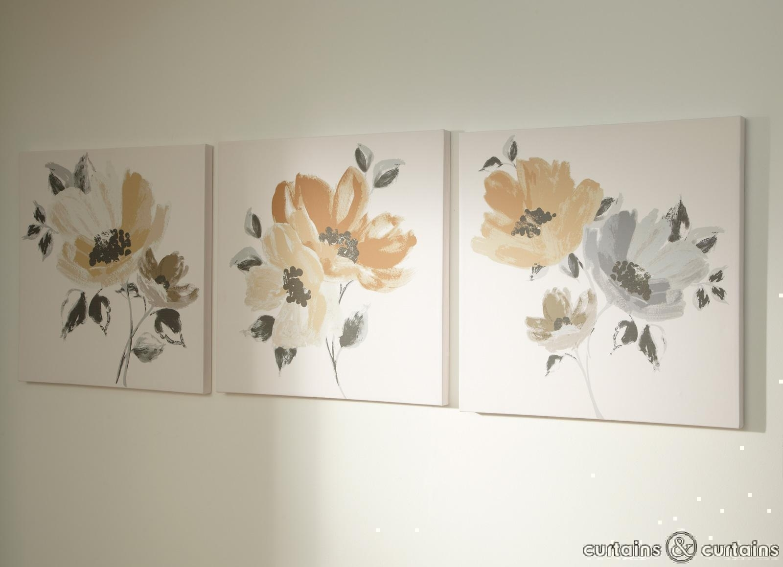 Wall Art: Top Ten Gallery Floral Canvas Wall Art Floral Posters Inside Newest Canvas Wall Art Of Flowers (View 5 of 15)