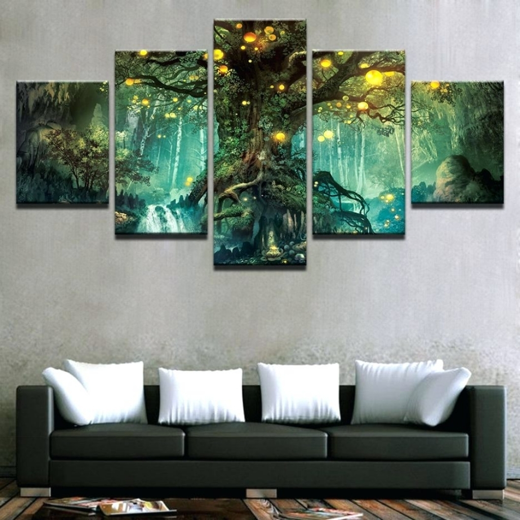 Featured Photo of Canvas Wall Art At Target