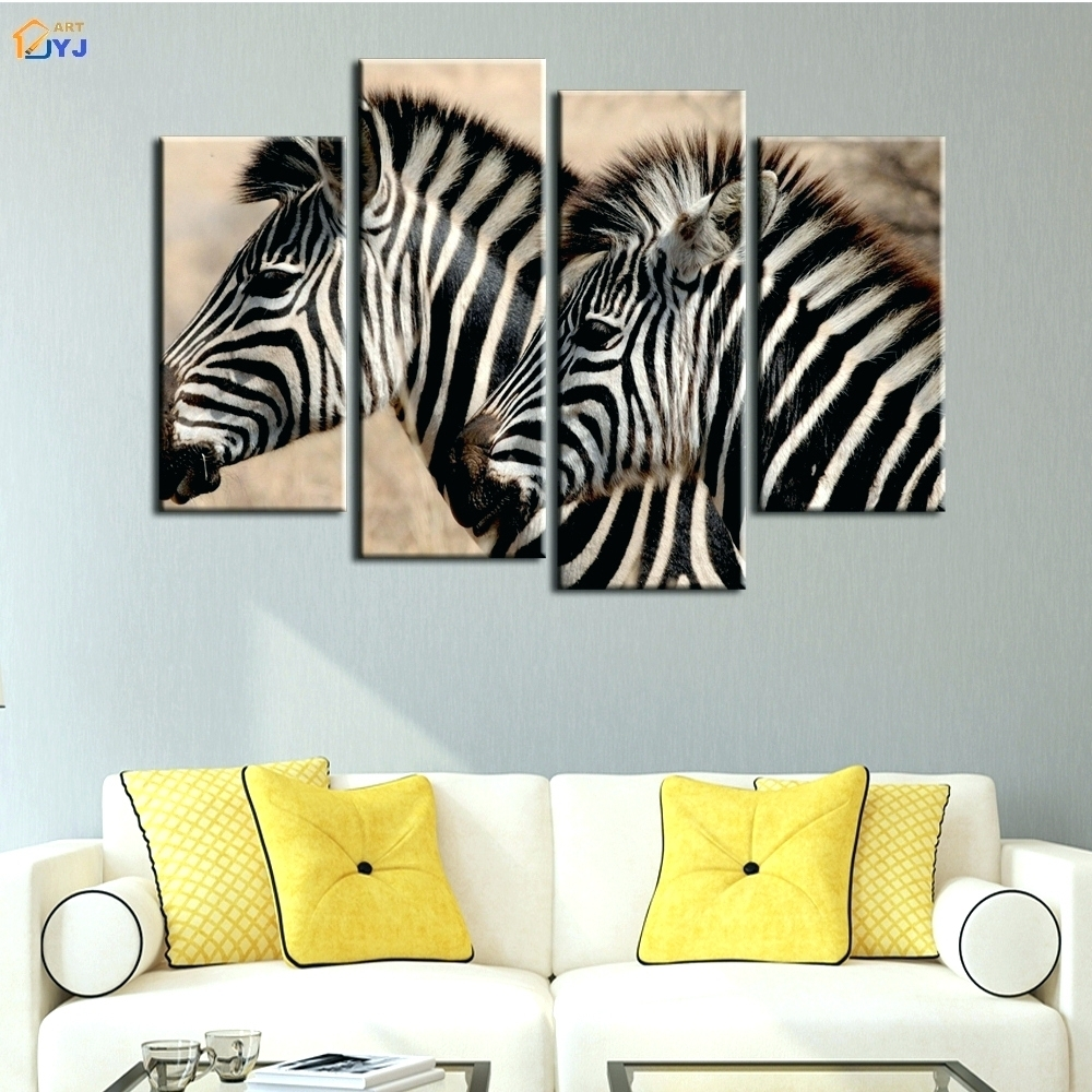 Wall Arts ~ African Safari Canvas Wall Art African Art Split Regarding Most Recent Safari Canvas Wall Art (View 12 of 15)
