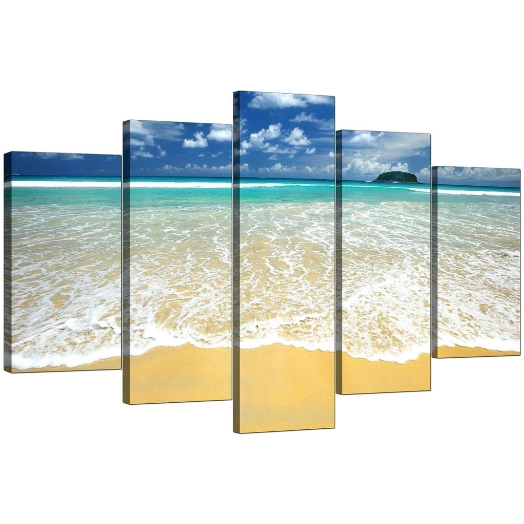 Wall Arts ~ Beach Themed Canvas Prints Australia Beach Chairs In Most Popular Beach Themed Canvas Wall Art (View 12 of 15)