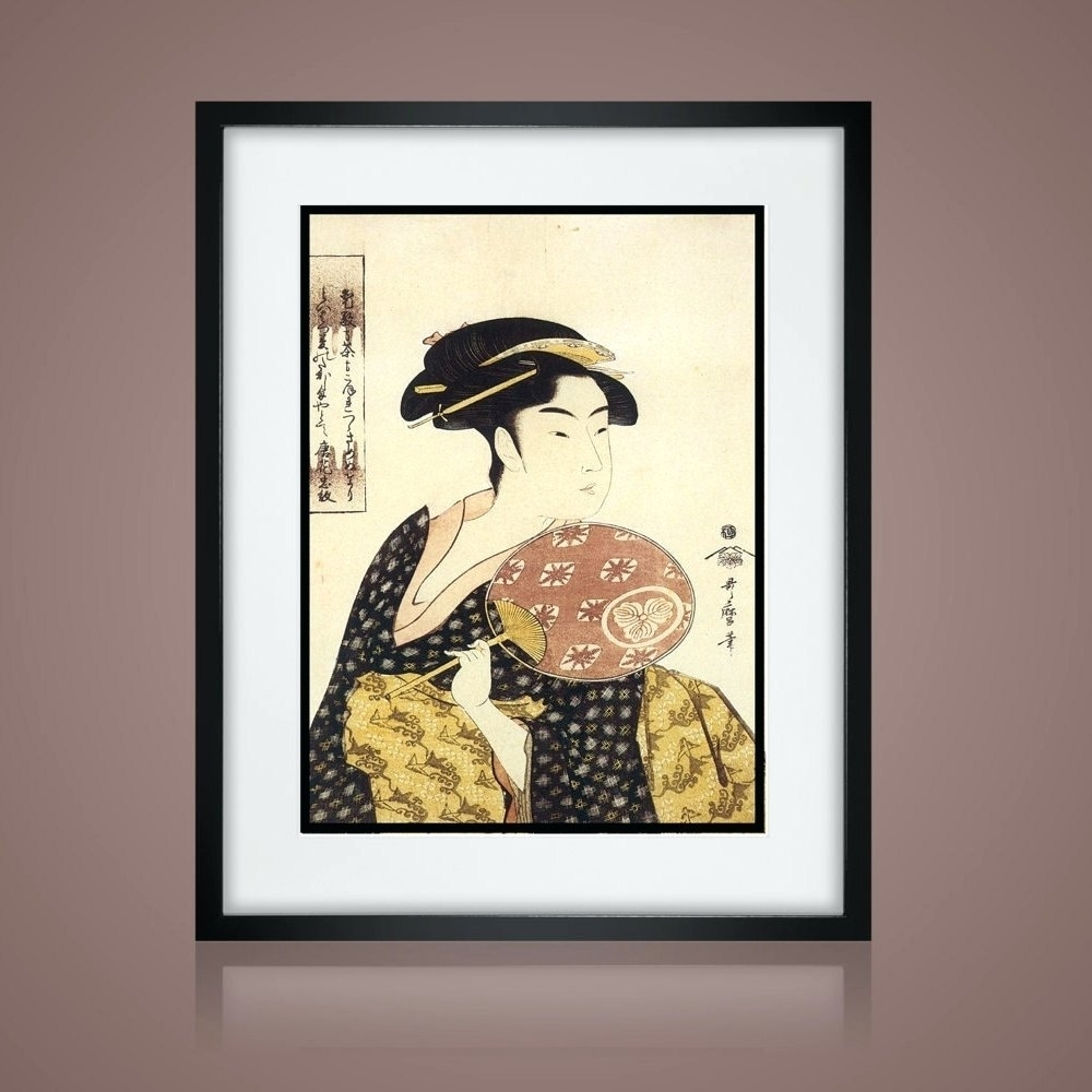 Wall Arts ~ Chinese Zodiac Horse Asian Wall Art Asian Art Print For 2017 Framed Asian Art Prints (View 14 of 15)