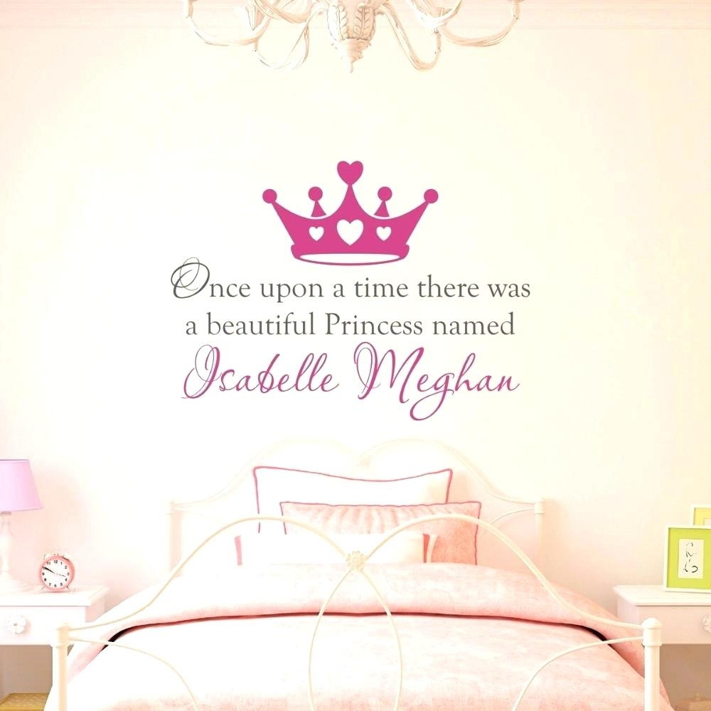 Wall Arts ~ Custom Nursery Wall Decals Buy Custom Made Once Upon A In Current Custom Nursery Canvas Wall Art (View 8 of 15)