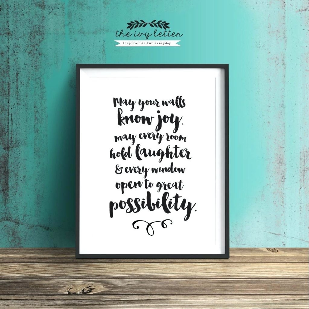 Wall Arts ~ Custom Wood Wall Art Quotes Once Upon A Time Regarding Most Up To Date Custom Quote Canvas Wall Art (View 12 of 15)