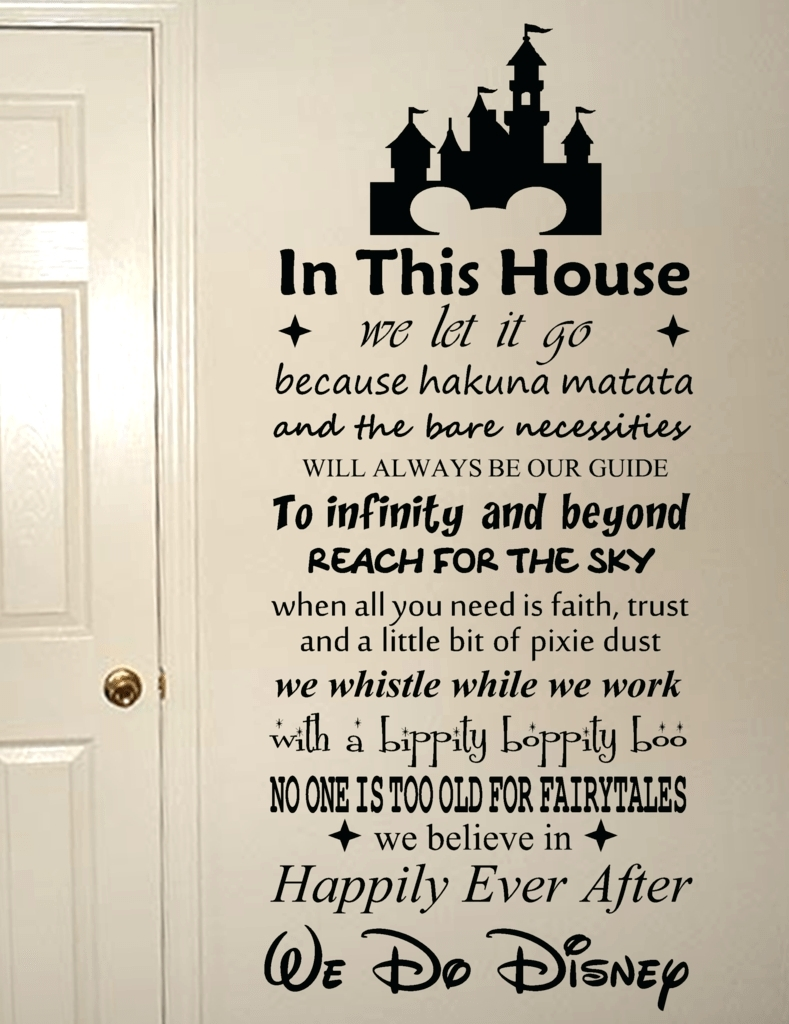 Wall Arts ~ Custom Wood Wall Art Quotes Once Upon A Time With Most Recent Canvas Wall Art Family Quotes (View 10 of 15)