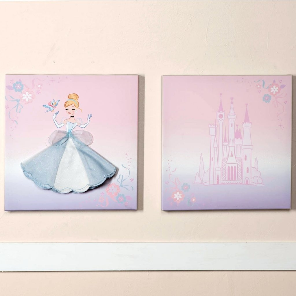 Wall Arts ~ Disney Princess Canvas Wall Art Print Disney Princess Inside Best And Newest Glitter Canvas Wall Art (View 15 of 15)