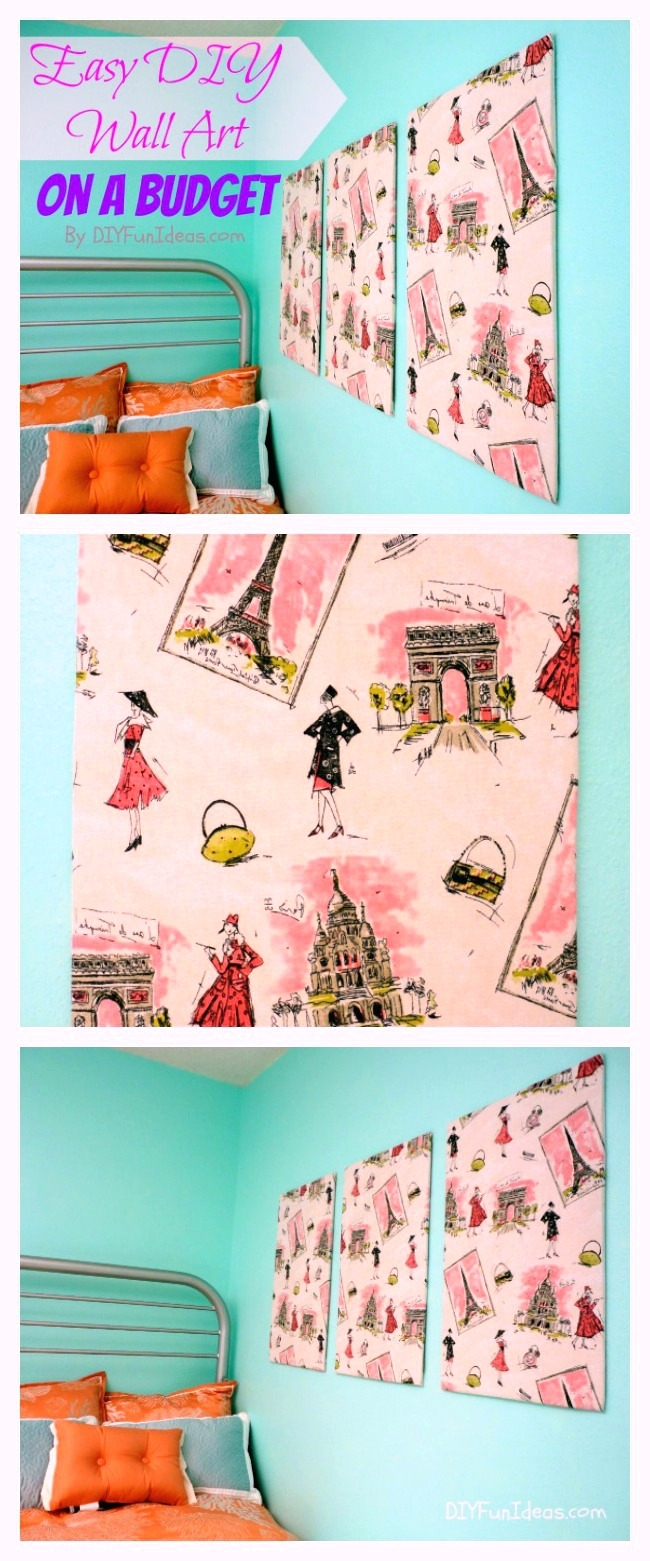 Wall Arts ~ Diy Fabric Covered Wall Art Framed Fabric Wall Art Diy Pertaining To Most Up To Date Fabric Covered Squares Wall Art (View 11 of 15)