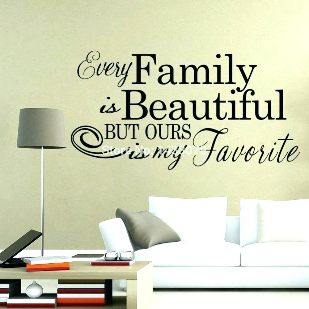 Wall Arts ~ Famous Quotes Canvas Wall Art Family Quotes Quote Wall Inside Latest Canvas Wall Art Family Quotes (View 12 of 15)